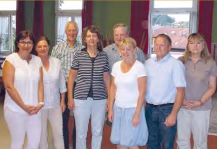 Alte und neue Vorstandschaft Sozialwerk Simssee e.V.